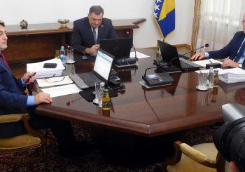PREDSJEDNIŠTVO BIH Održana prva sjednica, usvojena zajednička izjava o evropskim integracijama