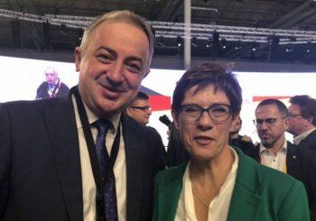 SARADNJA Borenović sa novoizabranom predsjednicom CDU i nasljednicom Angele Merkel