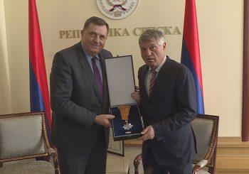 DRUGO ODLIKOVANJE U KARIJERI Lazanski od Dodika dobio Orden časti