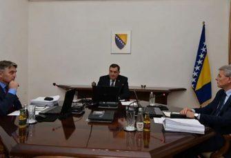 PREDSJEDNIŠTVO BIH O PELJEŠKOM MOSTU: Komšić i Džaferović preglasali Dodika, on se pozvao na vitalni interes