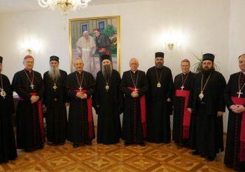 SUSRET Vladike SPC i katolički biskupi u Hrvatskoj potpisali zajedničku izjavu o ratnim stradanjima