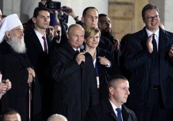 REAKCIJE Vučić i Đilas o dočeku kod Hrama, mediji u Rusiji i SAD o dometima Putinove posjete Srbiji