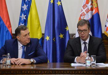 VUČIĆ: Sa Dodikom sam davno dogovorio da nikada Srbija ne ide protiv Srpske, niti Srpska protiv Srbije