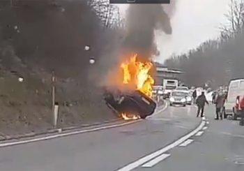 UTVRĐEN IDENTITET Muškarac koji je izgorio u automobilu sa zagrebačkim tablicama - iz Banjaluke