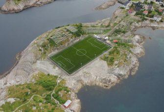 FASCINANTNA LOKACIJA Selo u Norveškoj ima najljepši fudbalski stadion na svijetu