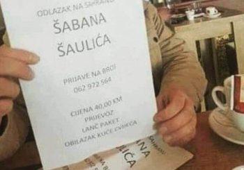 MIZERNO: U oglasu nudi prevoz iz BiH na sahranu Šabana Šaulića, cijena 40 KM