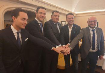 SASTANCI U BEČU: SNSD sa austrijskim slobodarima i italijanskom Ligom, Dodik sa Štraheom
