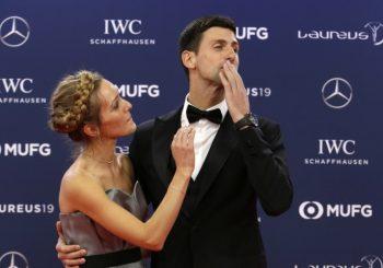 """NAGRADA """"LAUREUS"""": Novak Đoković četvrti put proglašen za najboljeg sportistu svijeta"""