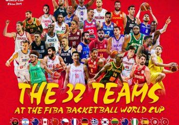 KOMPLETIRANA LISTA: Poznati svi učesnici Svjetskog prvenstva u košarci u Kini