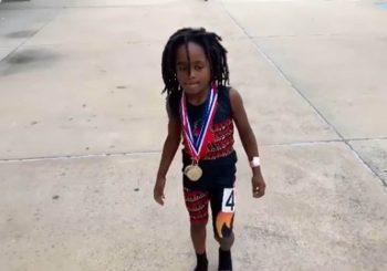 NAJBRŽE DIJETE NA SVIJETU: Sedmogodišnjaka već sada porede sa Boltom VIDEO