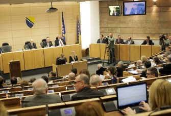 KONSTITUISAN DOM NARODA FBIH: Martinović (HDZ) predsjedavajući, Čampara (SDA) zamjenik