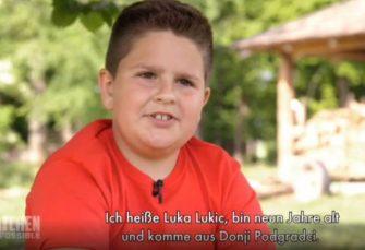 OČARAO PUBLIKU: Luka Lukić (9) iz Podgradaca kod Gradiške zvijezda kulinarske emisije u Njemačkoj