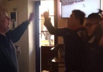 """NDH DO PEKINGA: U Imotskom privedena dva Kineza, na ulici i u kafani uzvikivali: """"Za dom spremni"""" VIDEO"""