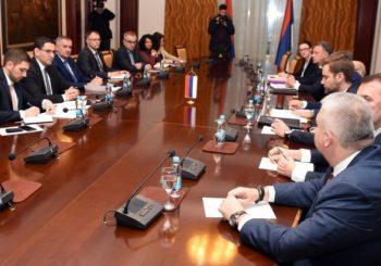 SASTANAK: Višković i Klokić sa šefovima predstavništava RS u inostranstvu