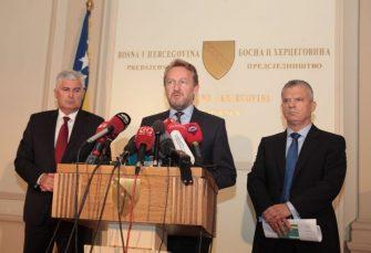 PRVOTIMCI: Čović, Izetbegović i Radončić izabrani u Dom naroda BiH