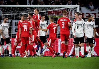 POZITIVAN UTISAK: Srbija remizirala sa Njemačkom na prijateljskoj utakmici u Volfsburgu