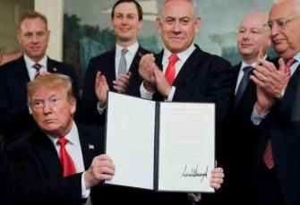 Tramp priznao izraelski suverenitet nad Golanom, Netanjahu uzvratio bombardovanjem na rakete iz Gaze