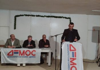 DEMOS: Dragan Milojević izabran za predsjednika OO u Ljubinju
