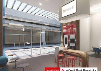 UniCredit Bank Banjaluka otvorila novu poslovnicu u TC Delta Planet