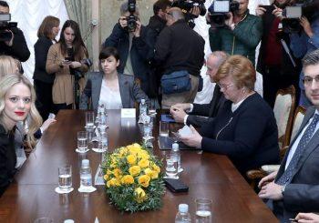 """Oboje imali korist od susreta: Veljači je dosta """"sapuničarenja"""", a Plenković…"""