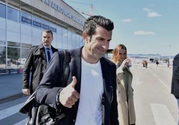 ČUVENI FUDBALER U BIH: Luis Figo u Sarajevu, došao na međunarodni skup o turizmu