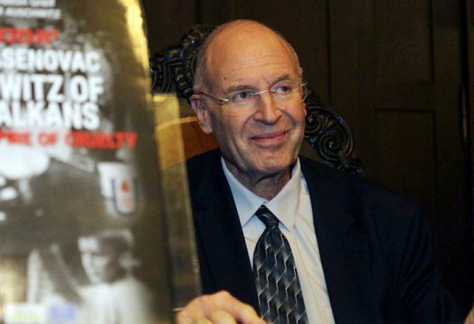 """""""JASENOVAC - AUŠVIC BALKANA"""": Knjiga Gideona Grajfa promovisana u Bijeljini"""