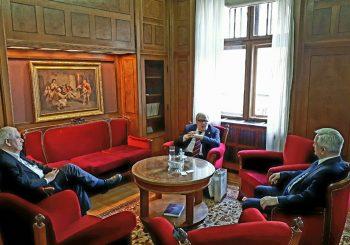 ČUBRILOVIĆ SA PREDSJEDNIKOM SANU: Akademija ima autoritet i snagu da bude korektiv politike