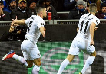 LIGA EVROPE: Jović odveo Ajntraht u četvrtfinale, Benfika zaustavila Dinamo