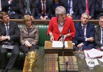 BRITANIJA: Parlament opet odbacio sporazum Tereze Mej sa Briselom o izlasku iz EU