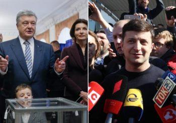 UKRAJINA: Zelenski dobio duplo više glasova od Porošenka, idu u drugi krug predsjedničkih izbora
