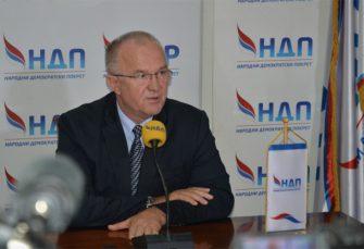 DRAGAN ČAVIĆ (NDP): Komunikacija lidera iz RS sa Vučićem značajna jer BiH ponovo ulazi u fokus velikih sila