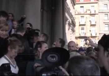 NOVI SUKOB: Opozicionari pokušali da uđu u gradsku upravu Beograda, traže smjenu Gorana Vesića
