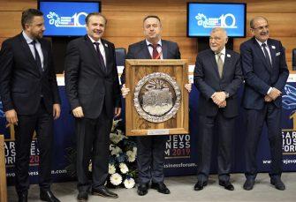 SARAJEVO BIZNIS FORUM Maza proglašena inovacijom godine
