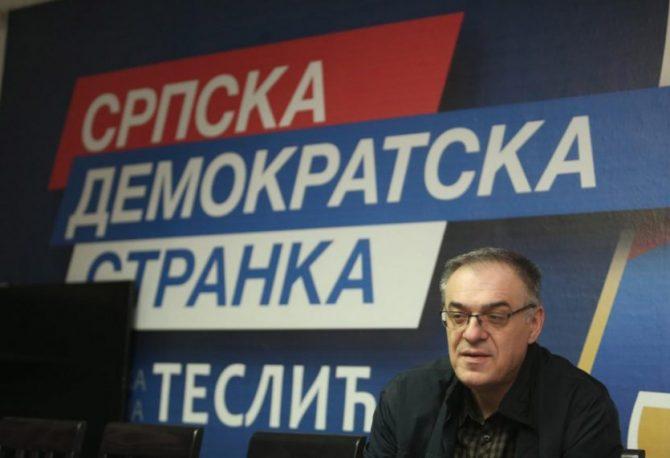 PODRŠKA: Opštinski odbor SDS-a u Šamcu kandidovao Miličevića za predsjednika stranke