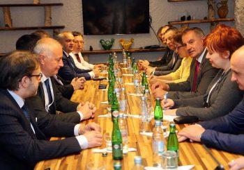 Višković i ministri sa političarima i parlamentarcima iz Njemačke, Italije, Rusije, Belgije i Slovačke