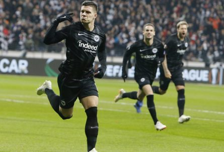 LIGA EVROPE: Ajntraht se pridružio Arsenalu, Čelziju i Valensiji u polufinalu