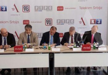 RTRS, ATV, K3 i TELEKOM SRBIJA: Potpisan ugovor o distribuciji TV signala van BiH