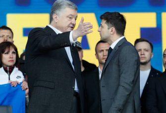 PREDSJEDNIČKA DEBATA: Porošenko i Zelenski na stadionu u Kijevu pred 22.000 ljudi
