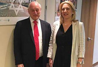 SASTANAK U NJUJORKU: Cvijanovićeva sa šefom Saveza vodećih jevrejskih organizacija