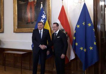 DODIK SA ŠTRAHEOM: Austrija razumije stav RS o vojnoj neutralnosti BiH (VIDEO)