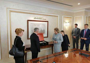 ČUBRILOVIĆ U MOSKVI: Saglasnost sa Valentinom Matvijenko da je vrijeme za gašenje OHR-a