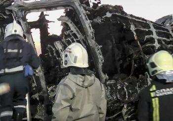 UZROK SMRTI: U avionskoj nesreći u Moskvi 41 osoba stradala od dima, preživjelo 37 ljudi