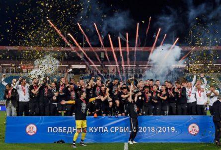 TRIJUMF NA MARAKANI: Partizan pobijedio Zvezdu u finalu Kupa Srbije
