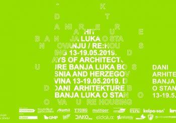 Dani arhitekture Banja Luka 2019 od 13. do 19. maja