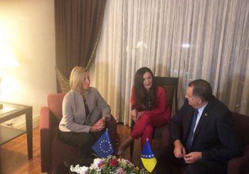 RAZGOVOR U TIRANI: Dodik i Mogerinijeva imali sastanak o situaciji u BiH