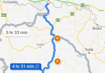 """DOBRA NOVOST ZA OVDAŠNJE VOZAČE: """"Google Maps"""" prikazuje lokacije radara i u BiH"""
