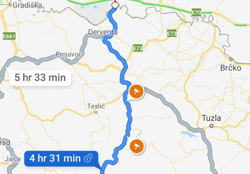 Dobra Novost Za Ovdasnje Vozace Google Maps Prikazuje Lokacije