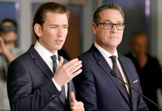 OSTAVKE ZBOG AFERE: Kurc i Štrahe večeras o sudbini austrijske vlade