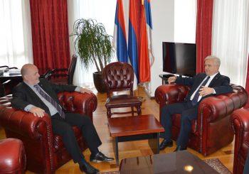 SASTANAK: Čubrilović sa Jelinčičem, poznatim stranačkim liderom iz Slovenije