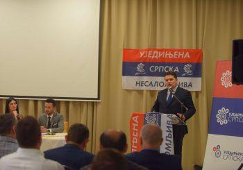 STEVANDIĆ U BIJELJINI: 80 odsto ljudi u RS van partija, Ujedinjena Srpska računa na tu snagu